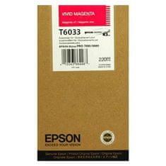 Epson Kartuša EPSON T6033 Vivid Magenta 220 ml