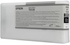 Epson tinta T6538 Matte Black, 200 ml