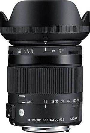 Sigma 18-200/3.5-6.3 DC MACRO OS HSM pro Nikon (4 roky záruka)
