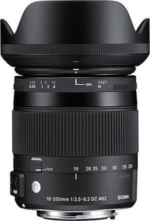 Sigma 18-200/3.5-6.3 DC MACRO OS HSM pro Canon (4 roky záruka)