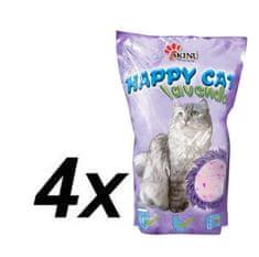 Akinu HAPPY CAT Levendula macskaalom 4 x 3.6 L