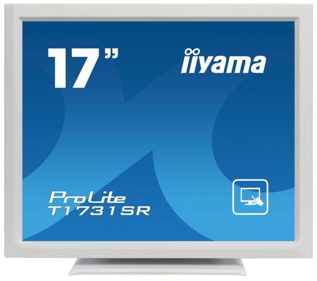 iiyama LED monitor T1731SR-W1 na dotik, črn