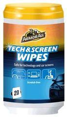 Armor All robčki Tech & Screen Wipes za čiščenje ekranov