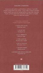 Giovanni Giacomo Casanova|:O ljubicah, tigricah in drugih trofejah, mehka