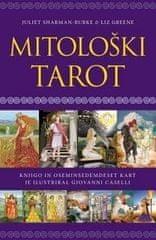 Juliet Sharman-Burke, Mitološki tarot, Knjiga+ 28 kart, mehka