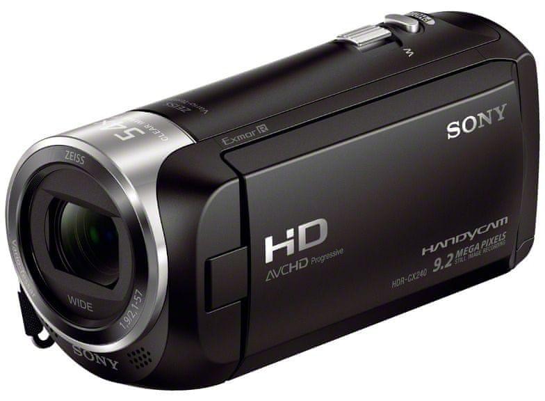 Sony Handycam HDR-CX240E černá - II. jakost