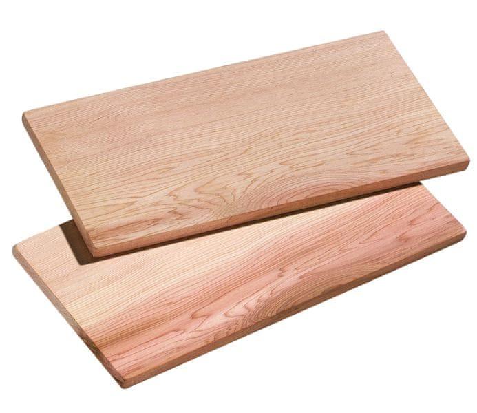 Küchenprofi Smoky cedrové prkénko 2 ks 40x15 cm