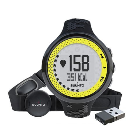 Suunto športna ura M5 Pack (+ Movestick Mini), Black Lime