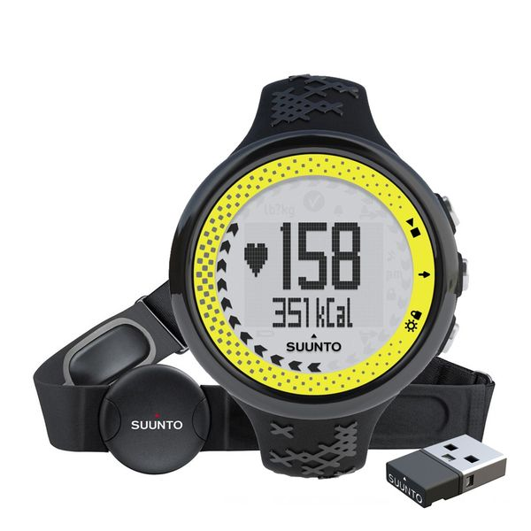 Suunto M5 Women Black/Lime Pack (+ Movestick Mini)