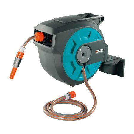 Gardena stenski nosilec za cev Comfort 15 Roll-Up Automatic (8022)