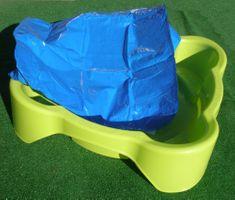 Marian Plast Pískoviště-bazének čtverec s krytím zelené