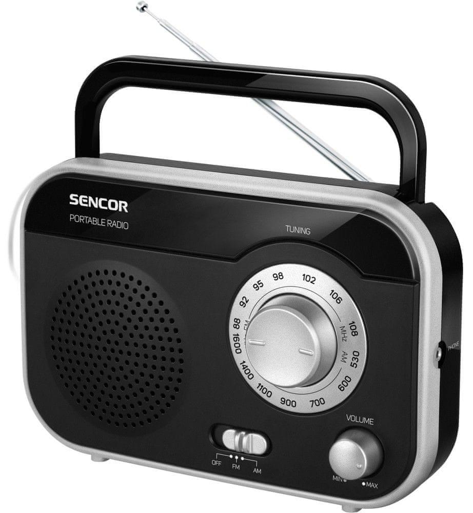 SENCOR SRD 210 BS (Black/Silver)