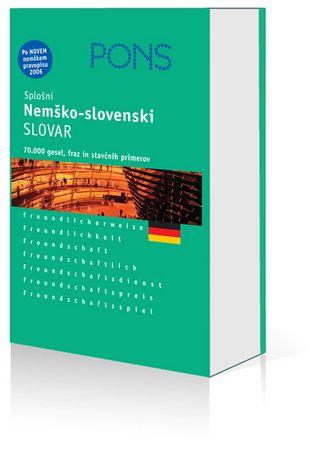 PONS splošni nemško-slovenski slovar, M. Jemec Škoda (trda, 2006)