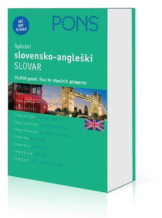PONS splošni slovensko-angleški slovar, Maša Peče (trda, 2009)
