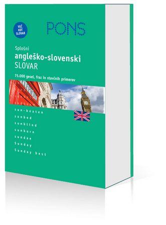 PONS splošni angleško-slovenski slovar, Anja Bolko (trda, 2008)