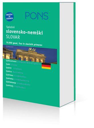 PONS splošni slovensko-nemški slovar, Polona Martinčič (trda, 2006)