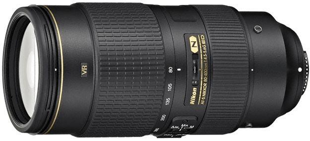 Nikon Nikkor AF-S 80-400 mm f/4,5-5,6 G ED VR - II. jakost