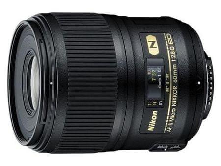 Nikon obiektyw NIkkor AF-S 60 mm f/2,8G ED Micro