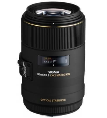 Sigma Objektiv EX 2,8/105 DG Macro C/AF OS HSM za Canon
