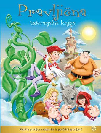 Pravljična ustvarjalna knjiga (broširana, 2013)