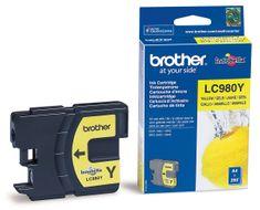 Brother LC980Y, žlutá