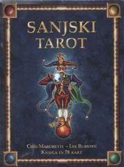 Lee Bursten, Sanjski tarot, knjiga + 78 kart