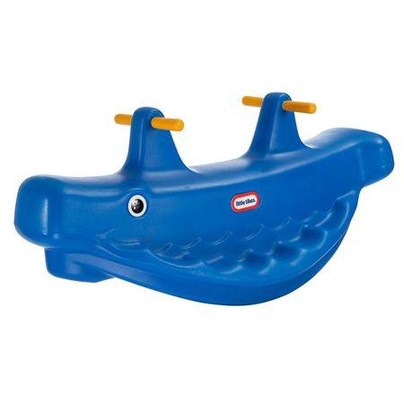 Little Tikes Hojdačka veľryba - modrá