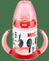 Nuk steklenička First Choice Miki Miška, 150 ml, rdeč ročaj