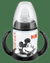 Nuk steklenička First Choice Miki Miška, 150 ml, črn ročaj