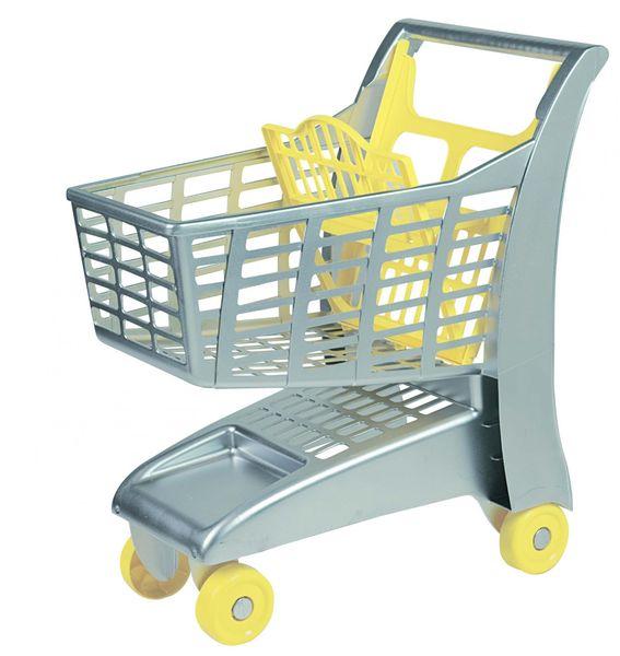 Androni Nákupní vozík stříbrná