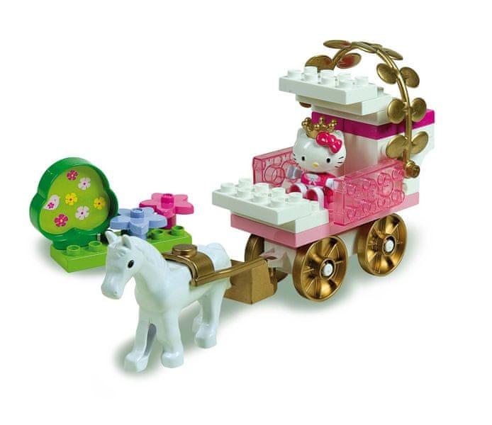 Unico Hello Kitty Princess Kočár s koníkem
