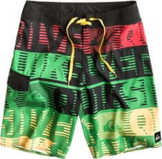 Quiksilver kopalne kratke hlače Comp World Stripe 21 M