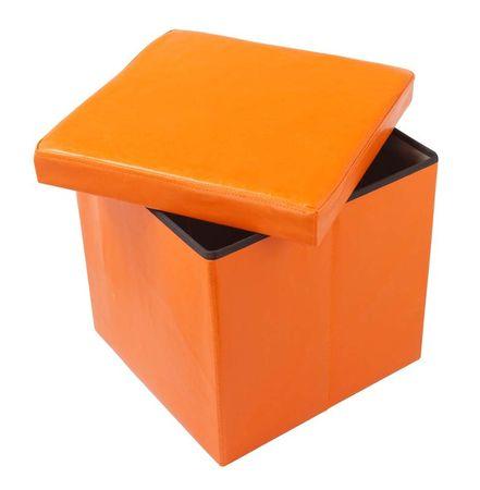 Škatla tabure TA01-O, oranžna