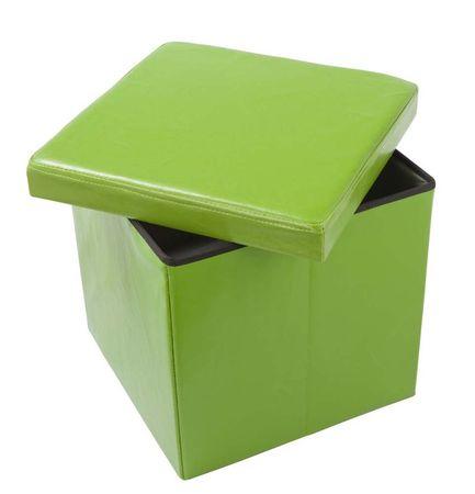 Škatla tabure TA01-Z, zelena
