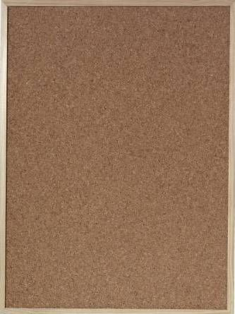 Herlitz Oglasna tabla s pluto Herlitz, 60 x 80 cm