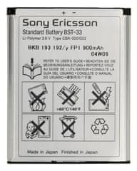 Sony Ericsson baterija BST-33