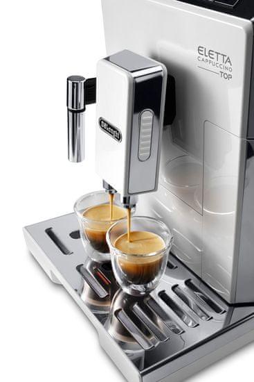 De'Longhi automatický kávovar ECAM 45.760.W Eletta Cappuccino TOP - použité