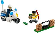 LEGO® City 60041 Pościg za przestępcą