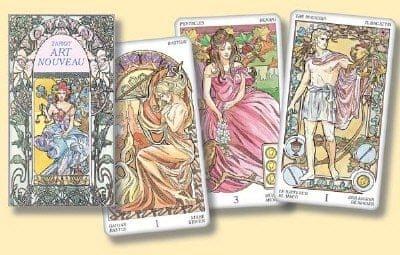 Pietro Alligo: Tarot art noveau