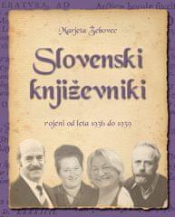 Marjeta Žebovec: Slovenski književniki: rojeni od leta 1936 do 1939