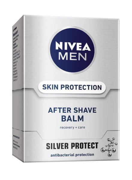 Nivea MEN balzám po holení Silver Protect 100 ml