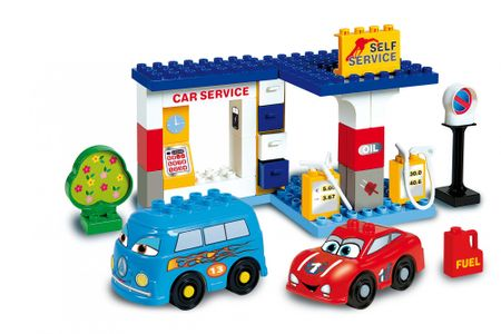Unico Cars for kids - Čerpací stanice