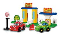 Unico Cars for kids - Truhla s kostkami