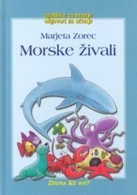 Marjeta Zorec: Morske živali