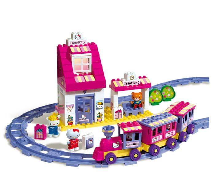 Unico Hello Kitty Vláček s nádražím