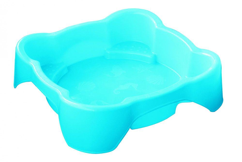 Marian Plast Pískoviště - bazének čtverec bez krytu modrá