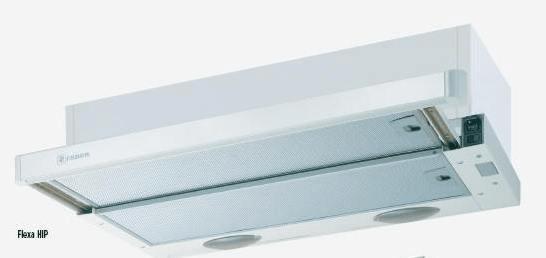 Faber vgradna izvlečna kuhinjska napa Glosa Eco, Flexa hip 60, inox