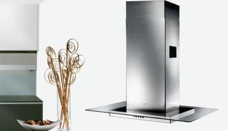 Faber otočna kuhinjska napa Glassy Isola 90, inox/steklo