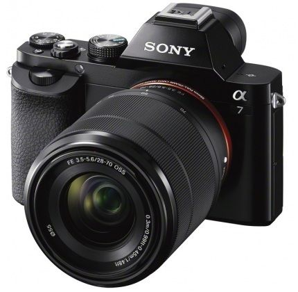 Sony digitalni fotoaparat Alpha A7 ILCE-7KB + SEL-1870