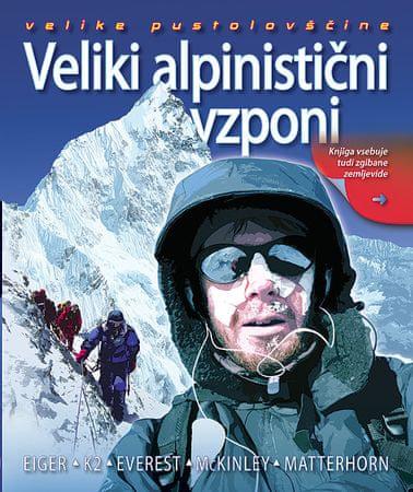 Veliki alpinistični vzponi , John Cleare (trda, 2011)